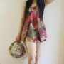 armpits dress hat indonesian legs non-celebrity shoulders sleeveless standing thighs