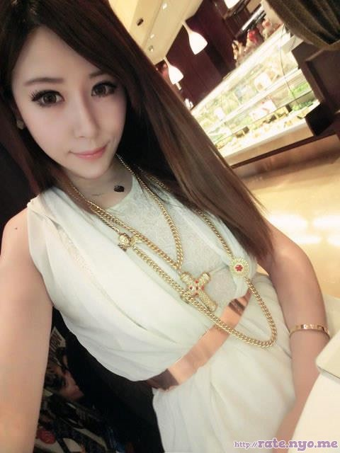 chinese dimples dress non-celebrity shoulders sleeveless