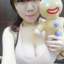 breasts cleavage non-celebrity selfshot shoulders sleeveless taiwanese