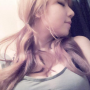 breasts cleavage lying_down non-celebrity pigtails selfshot shoulders sleeping sleeveless taiwanese
