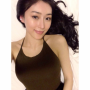chinese non-celebrity selfshot shoulders sleeveless