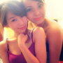breasts filipina non-celebrity shoulders sleeveless two_girls