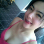 breasts cleavage filipina non-celebrity selfshot shoulders sleeveless tongue_out
