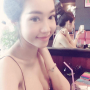 breasts cleavage elly_tran_ha selfshot shoulders sleeveless smiling vietnamese
