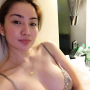 bra breasts cleavage filipina non-celebrity shoulders