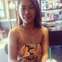 filipina non-celebrity sleeveless smiling