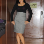 filipina full_body non-celebrity smiling standing
