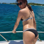 back bikini butt filipina legs shoulders sunglasses thighs