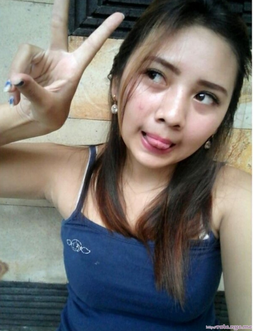 armpits japanese non-celebrity peace_sign selfshot shoulders sleeveless tongue_out