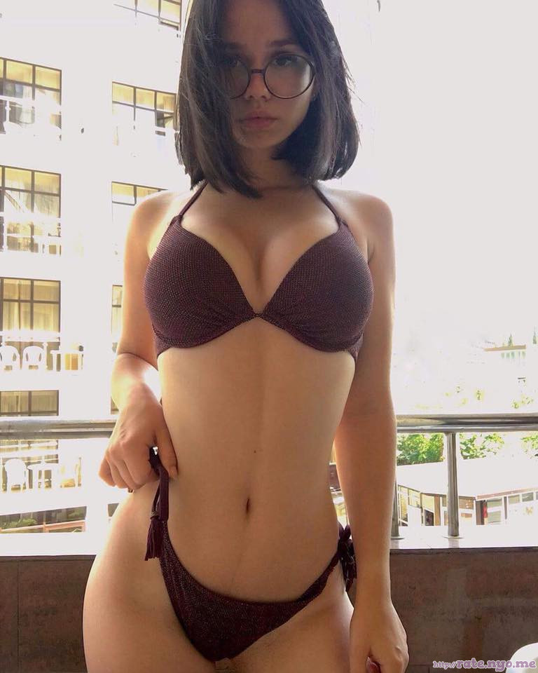 bra breasts cleavage glasses midriff non-celebrity panties shoulders thai thighs