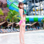 bikini feet full_body legs midriff pigtails shoulders thai thighs