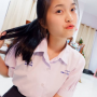 non-celebrity ponytail pouting schoolgirl thai