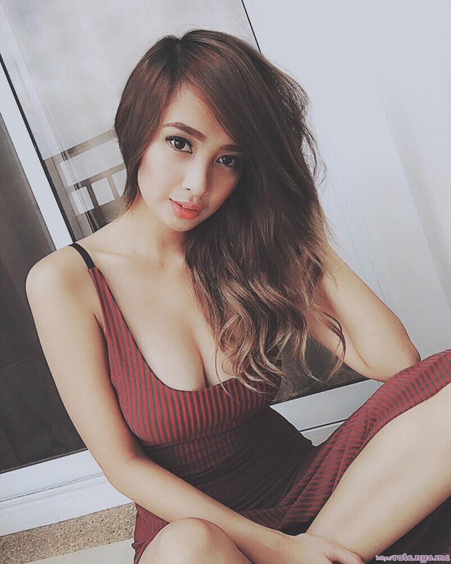 ann_mateo breasts cleavage dress filipina shoulders sleeveless