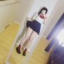 cosplay full_body japanese legs nikumikyo panties schoolgirl selfshot skirt thighs
