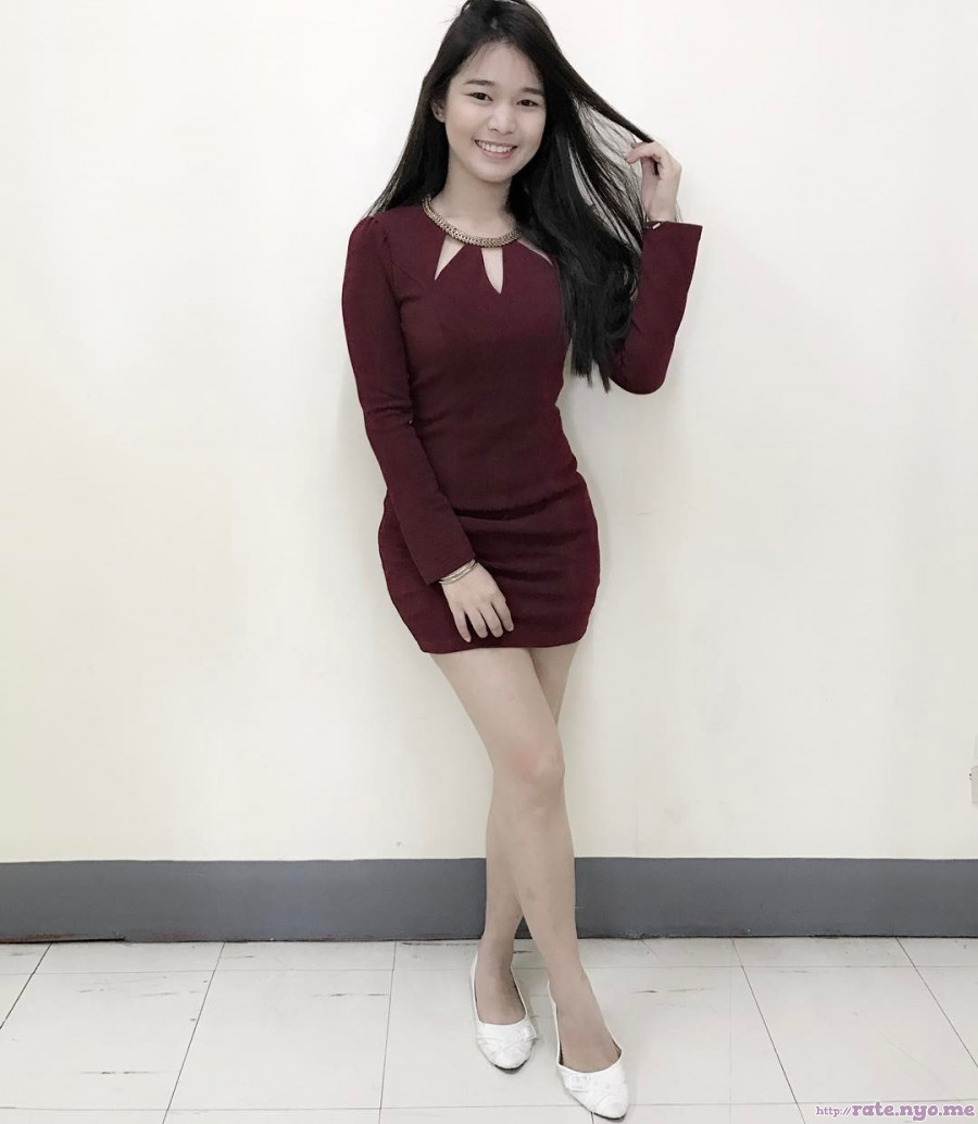 dress filipina full_body legs smiling steph_baldonado thighs