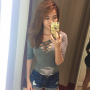 breasts cleavage selfshot shorts singaporean