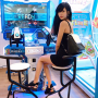 aurelia_hathaway full_body legs shoulders singaporean sitting sleeveless thighs