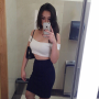 breasts legs midriff selfshot shoulders singaporean skirt sleeveless