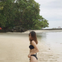 bikini filipina legs midriff non-celebrity shoulders thighs