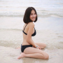 back beach bikini breasts feet full_body legs shoulders smiling thai thighs