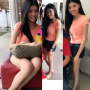 feet full_body legs malaysian non-celebrity shorts smiling thighs