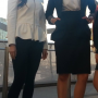 full_body legs malaysian non-celebrity standing two_girls