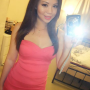 chinese dress non-celebrity selfshot shoulders sleeveless