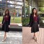 chinese full_body legs non-celebrity skirt