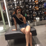filipina full_body legs non-celebrity selfshot shorts sitting thighs