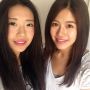 chinese smiling two_girls