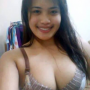 bra breasts cleavage filipina lingerie non-celebrity shoulders smiling