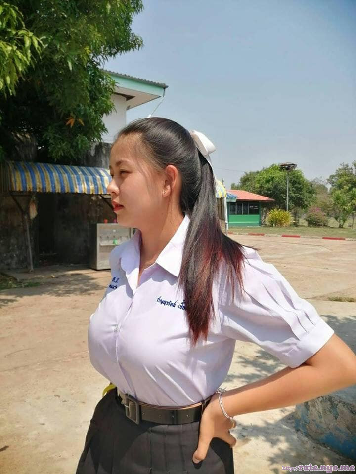 breasts non-celebrity ponytail schoolgirl thai