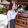 braces schoolgirl skirt smiling thai