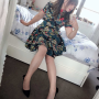 chinese dress full_body legs non-celebrity selfshot sitting