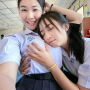 non-celebrity schoolgirl smiling thai two_girls