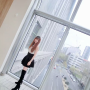 boots chinese full_body non-celebrity skirt zettai_ryouiki