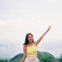 armpits filipina non-celebrity shoulders sleeveless smiling