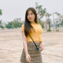 breasts legs midriff skirt standing thai