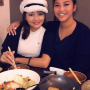breasts eating hat non-celebrity smiling thai two_girls