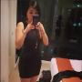 chinese dress non-celebrity selfshot shoulders sleeveless thighs